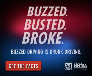 Buzzed Drinking is Drunk Driving NHTSA/Ad Council